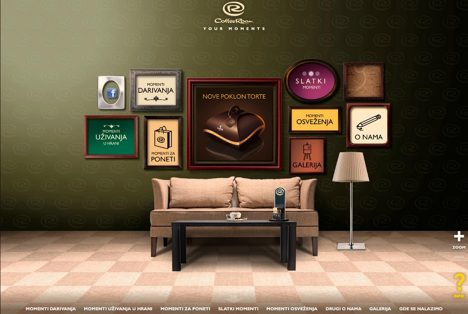 Coffee Room - Web Site